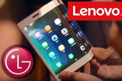 Lenovo chystá skládací tablet s ohebným displejem od LG