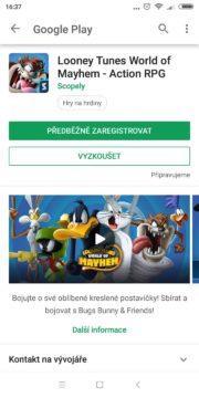 Looney Tunes World of Mayhem upozorní při vydání