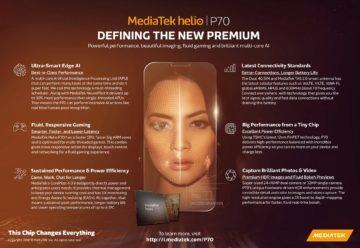 MediaTek Helio P70 infografika