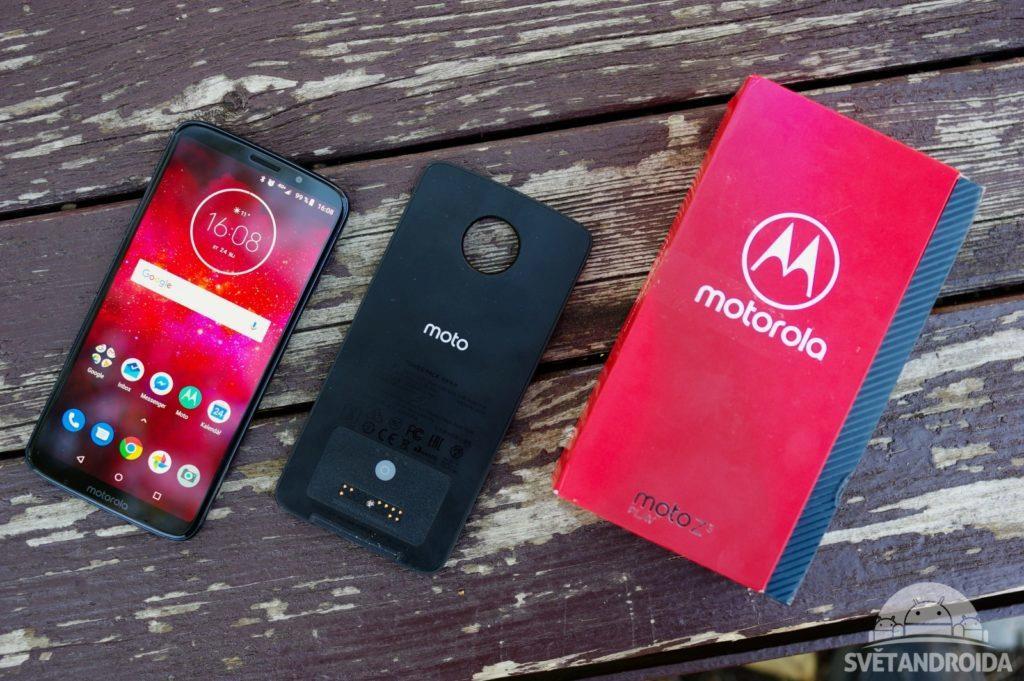 Motorola Moto Z3 Play obsah balení