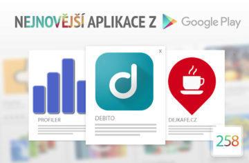 Nejnovější aplikace z Google Play #258: čtyři české aplikace