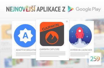 Nejnovější aplikace z Google Play #259: Garmin pro plánování výletů
