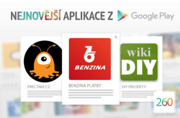 Nejnovější aplikace z Google Play #260: čtyři novinky z českých hlav