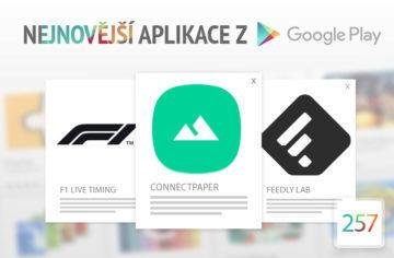 Nejnovější aplikace z Google Play #257: snadné sdílení tapet