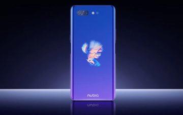 Nubia X se dvěma displeji představena - zadní strana