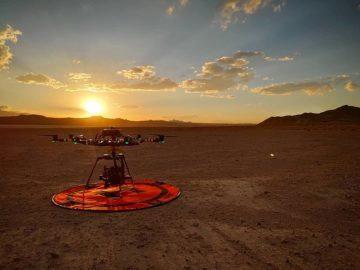 Red Hydrogen dron krajina