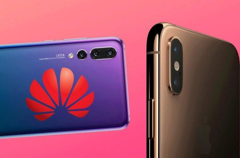 Srovnání Huawei P20 Pro vs iPhone XS Max ve fototestu DxOmark