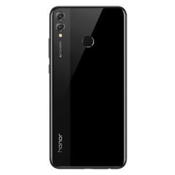 Telefon Honor 8X černý - zadní část