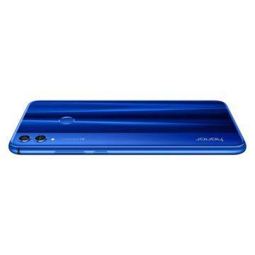 Telefon Honor 8X modrý - položen na displeji