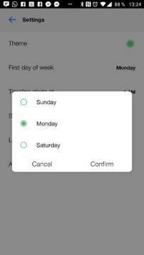 Začátek týdne