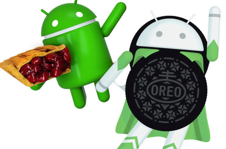 android 8 oreo android 9 pie posledni verze