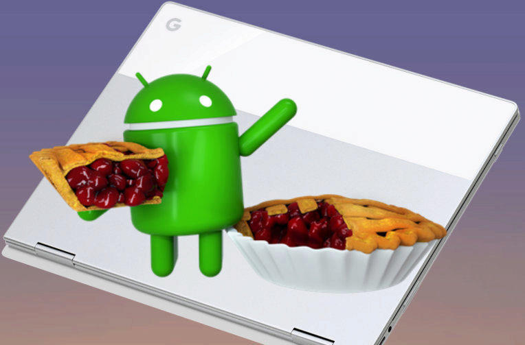 android 9 pie chrome os