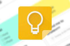 aplikace google keep material design 2