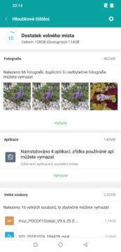 aplikace optimalizace vymazani fotografii