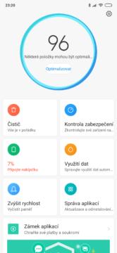 aplikace optimalizace xiaomi
