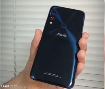 Asus ZenFone 6 prototyp - tři fotoaparáty
