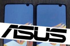 Asus ZenFone 6 prototyp - výřez netradičně vpravo