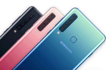 Samsung Galaxy A9 první pohled: Čtyři fotoaparáty v hlavní roli
