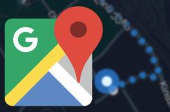 google mapy tmavy vzhled navigovani