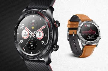 Honor Watch Magic jsou cenově dostupné chytré hodinky s GPS i NFC