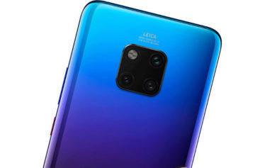 Nový telefon Huawei Mate 20 Pro ohromí fotoaparátem, čtečkou v displeji i obří baterií
