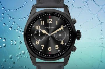 Montblanc Summit 2 jsou první Wear OS hodinky s čipsetem nové generace