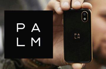 Značka Palm je zpět: Nový miniaturní telefon je stejně velký jako kreditní karta