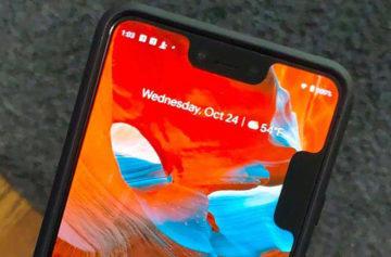 Jeden výřez nestačí: Pixel 3 XL telefony mají kvůli chybě rovnou dva