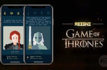 Novou hru Reigns: Game of Thrones už můžete stahovat z Google Play