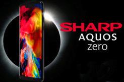 sharp aquos zero s oled displeji