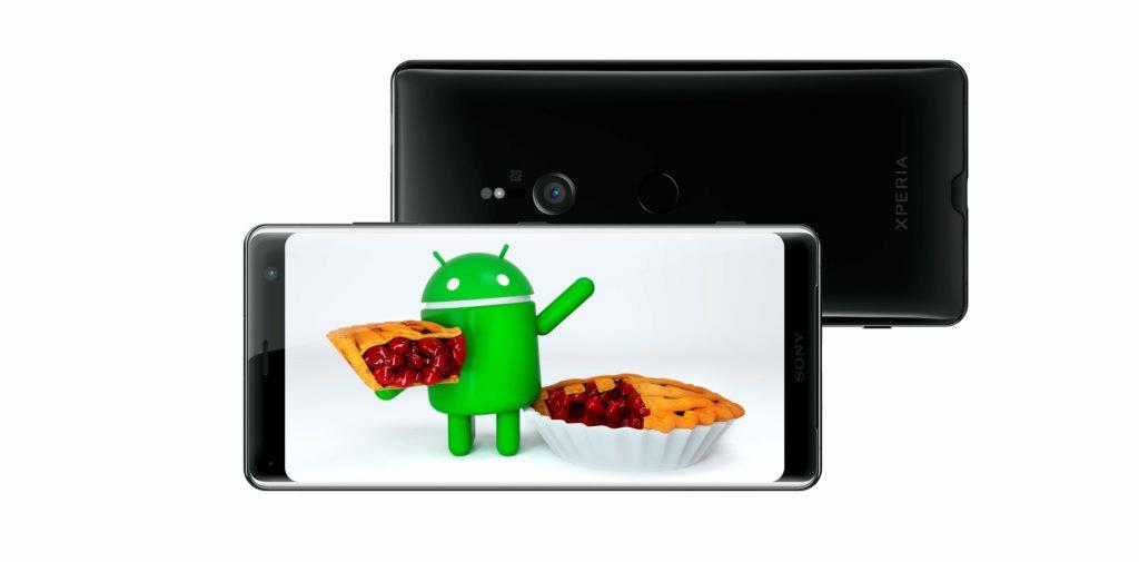 sony xperia aktualizace android 9 pie