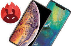 test vykon benchmark antutu huawei mate 20 pro vs apple iphone xs