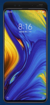 xiaomi mi mix 3 vysunovaci mechanismu
