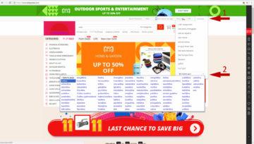 Jak nakupovat na Aliexpress v češtině