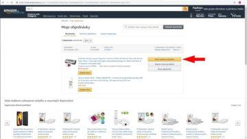 Jak reklamovat na Amazon zbozi