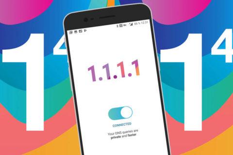 1-1-1-1 aplikace rychlejsi internet dns