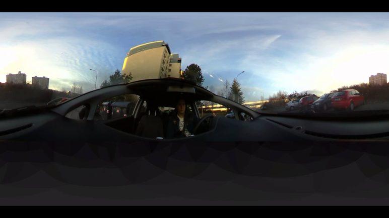 360Fly - zkušební video (auto)