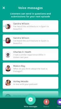 Anchor android aplikace