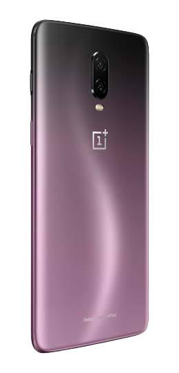 Fialový OnePlus 6T - záda 2