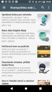 Krampolinka Crochet android