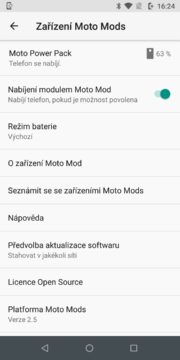 Motorola Moto Z3 Play baterie