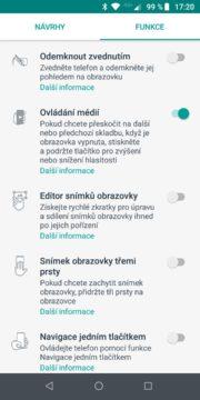 Motorola Moto Z3 Play funkce moto 1
