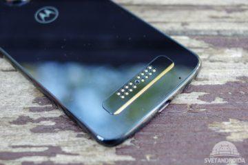 Motorola Moto Z3 Play konektor moto mod