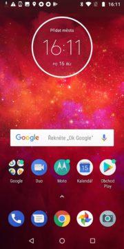 Motorola Moto Z3 Play launcher