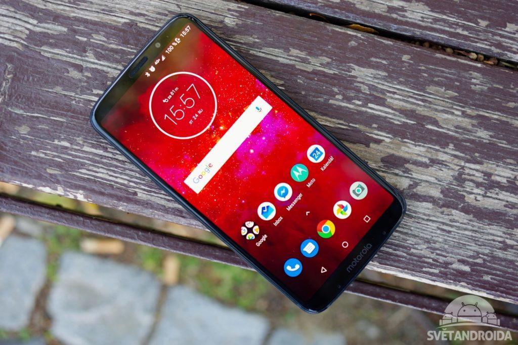 Motorola Moto Z3 Play přední strana