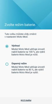 Motorola Moto Z3 Play power pack