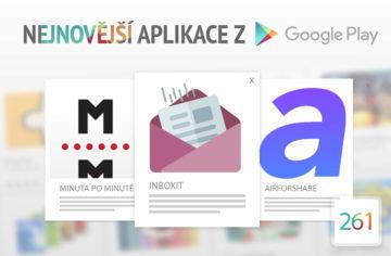Nejnovější aplikace z Google Play #261: sdílení z počítače na mobil