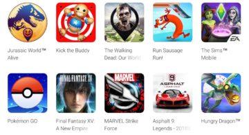 Nejoblíbenější hry pro Android za rok 2018
