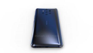 Nokia 9 PureView - zezadu