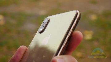 iPhone XS fotoaparát